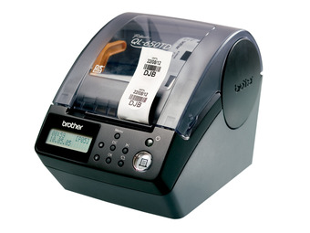 brother ql 650td label printer With circle label printer