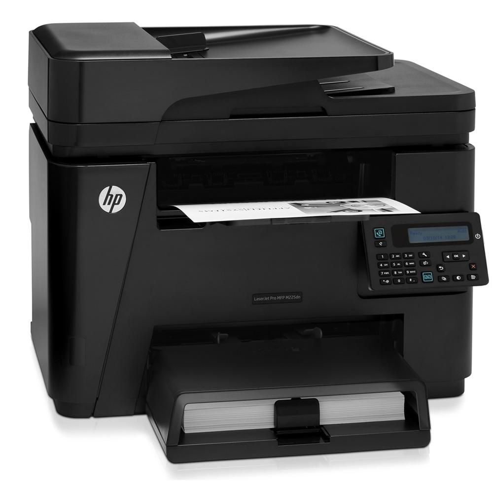 Hp Laserjet Pro M225dw A4 Mono Multifunction Laser Printer
