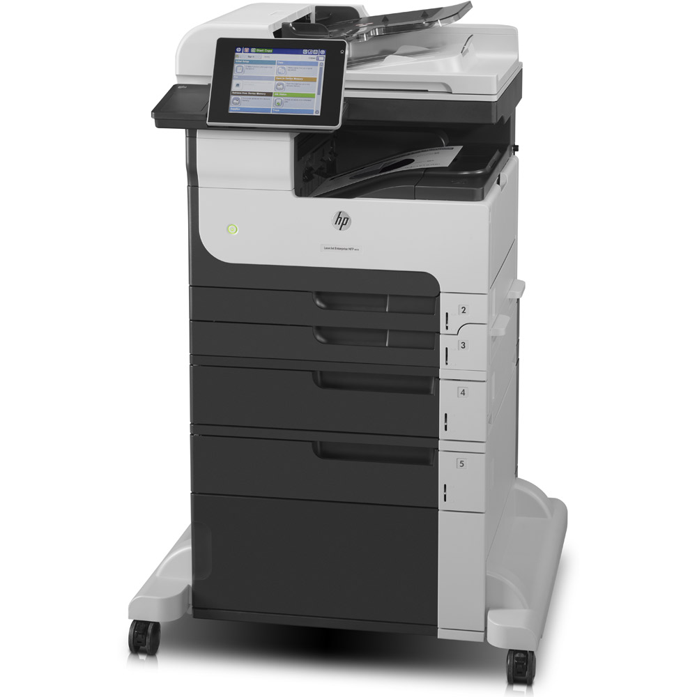 hp laserjet enterprise m725f a3 mono multifunction printer. Black Bedroom Furniture Sets. Home Design Ideas