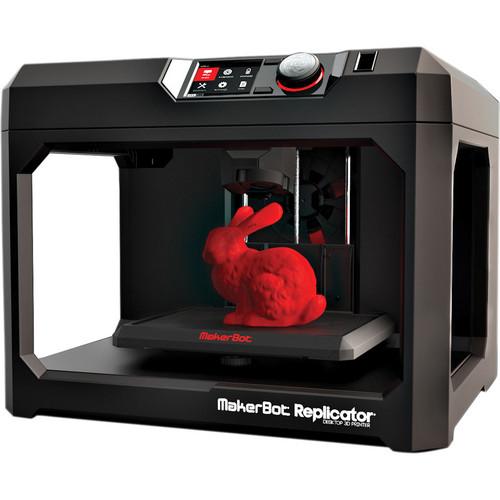 Makerbot Replicator 5th Generation Desktop 3d Printer