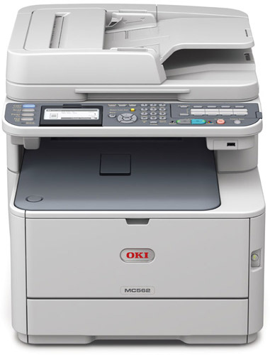 OKI MC562dnw A4 Colour Laser Printer With 3 Year Warranty on