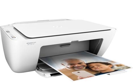 HP DeskJet 2620 A4 White All-in-One Inkjet Printer